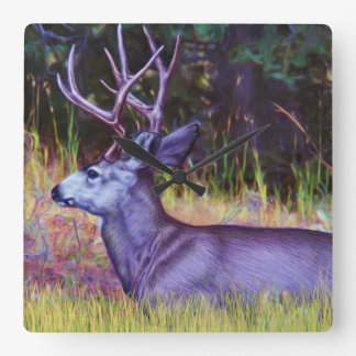 Forest Prince, Mule Deer Buck Clocks