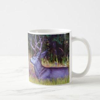 Forest Prince, Mule Deer Buck Coffee Mug
