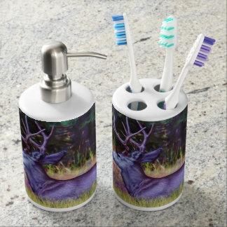 Forest Prince, Mule Deer Buck Toothbrush Holder