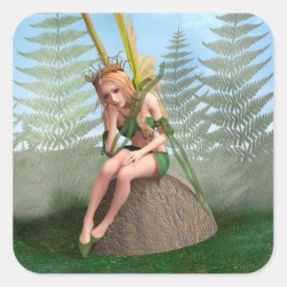 Forest Princess, Fairy Butterfly Sticker