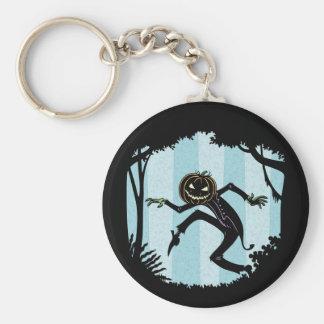 Forest Punkin Man Key Ring
