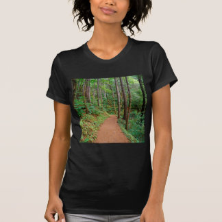 Forest Quiet Trail Columbia River Gorge Tee Shirt