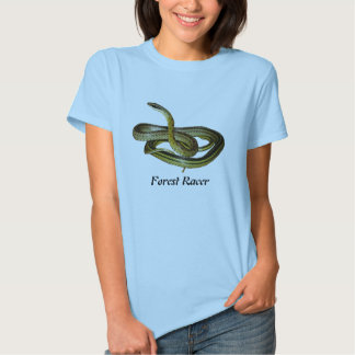 Forest Racer Ladies Baby Doll Shirts