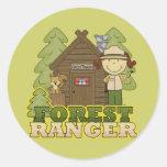 Forest Ranger - Brunette Girl