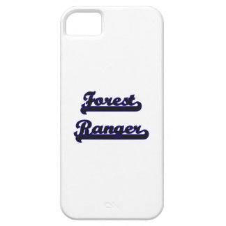 Forest Ranger Classic Job Design iPhone 5 Covers