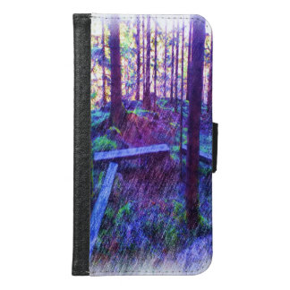 Forest Resting place Samsung Galaxy S6 Wallet Case