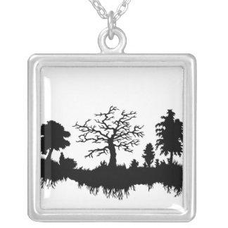 Forest Roots Personalized Necklace