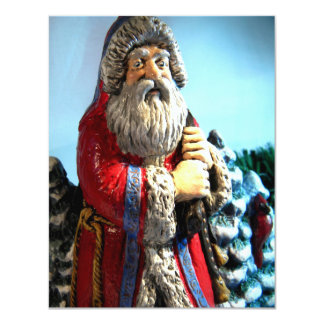 Forest Santa I 11 Cm X 14 Cm Invitation Card