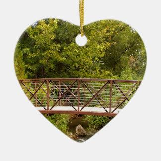 Forest Secret Walkway Ceramic Heart Decoration