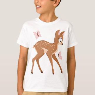 Forest series fawns baby deer girl T-Shirt