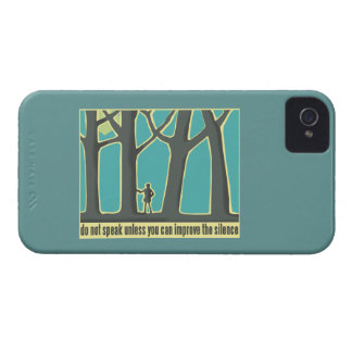 Forest Silence iPhone 4 Covers
