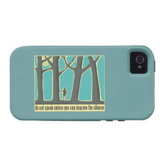 Forest Silence iPhone 4/4S Cases