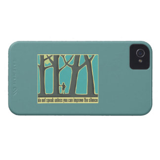Forest Silence iPhone 4 Cases