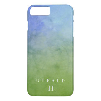 FOREST SKY Watercolor Wash Personalized iPhone 8 Plus/7 Plus Case