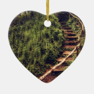 Forest Steps Christmas Ornament