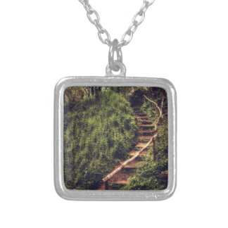 Forest Steps Personalized Necklace