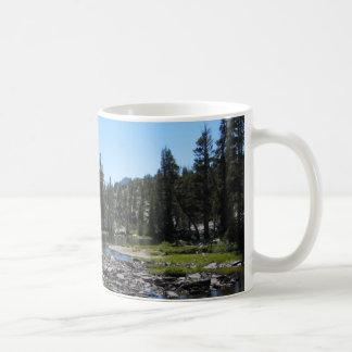 Forest Stream Basic White Mug