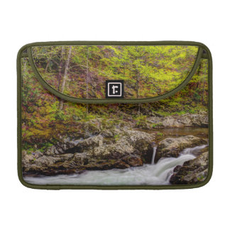 Forest Stream In Great Smoky Mountains MacBook Pro Sleeves