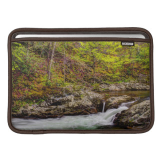 Forest Stream In Great Smoky Mountains Sleeve For MacBook Air