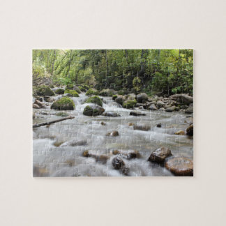 Forest Stream photo puzzle