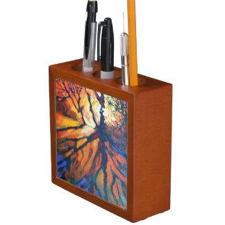 Forest sunset - Nature Deskorganiser Desk Organiser