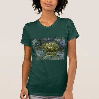 Forest T-Shirt w. Cameroons Independence Coin 1960