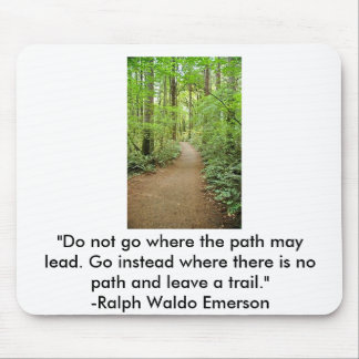 forest trail, mouse mat