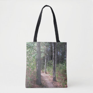 Forest Trees Double Sided Tote Bag