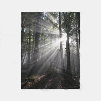 Forest -trees fleece blanket