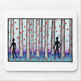 forest walk mouse pads