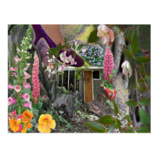 forest-walk postcards