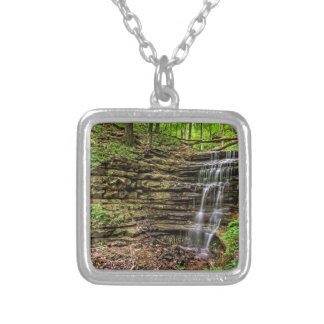 Forest Waterfall Personalized Necklace