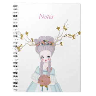 Forest wedding notebook