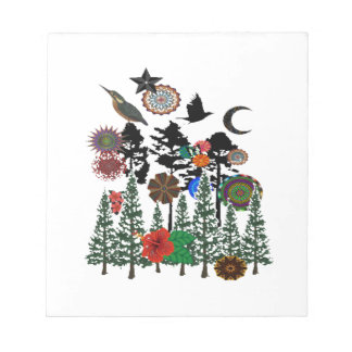 FOREST WHIMSICAL NOTEPAD