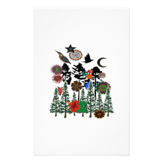 FOREST WHIMSICAL STATIONERY
