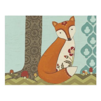 Forest Whimsy III Postcard