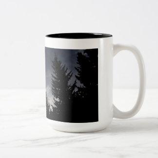 Forest Whisper Be Thy Name Two-Tone Mug