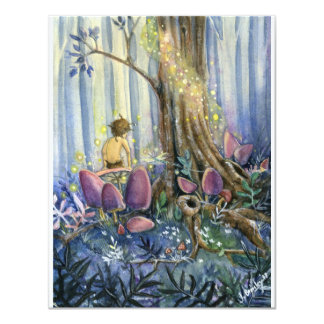 Forest Whisperings 11 Cm X 14 Cm Invitation Card