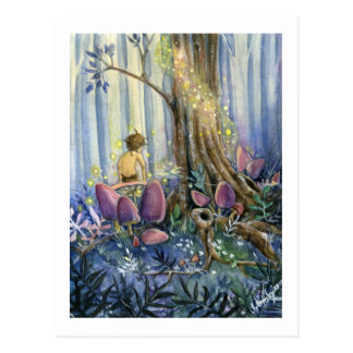 Forest Whisperings Postcard