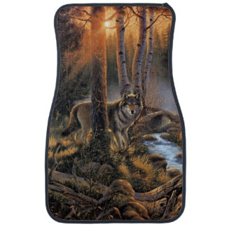 Forest Wolves Front Car Mat