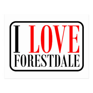 Forestdale Alabama Postcard