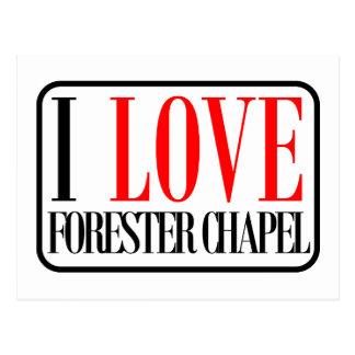 Forester Chapel, Alabama Postcard