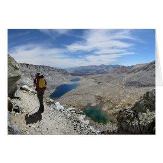 Forester Pass Switchbacks 2 - John Muir Trail Greeting Card