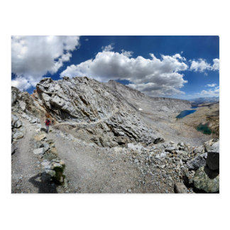 Forester Pass Switchbacks - John Muir Trail Post Card
