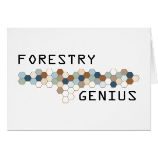 Forestry Genius Greeting Cards