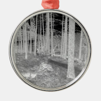 Forests of Ardentiny Silver-Colored Round Decoration