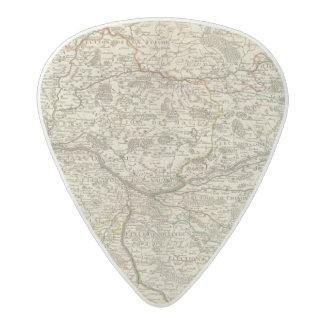 Forests of France Acetal Guitar Pick