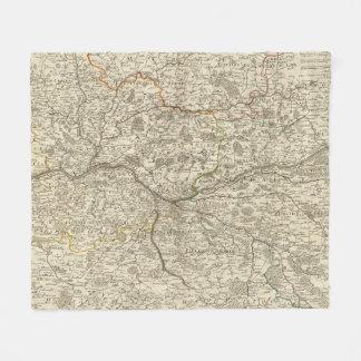 Forests of France Fleece Blanket