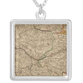 forests of France Square Pendant Necklace