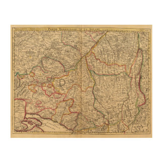 Forests of Germany Wood Canvases